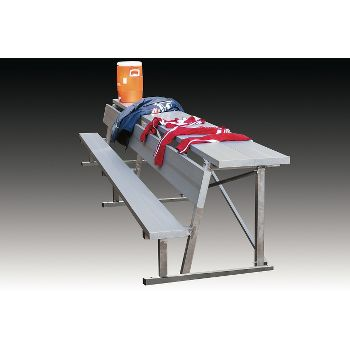Kwik Goal 15 Foot Bench With Equipment Shelf Baseball Express