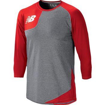 tom shadyac - New Balance Men's Asymmetric Tech Shirt | Baseball Express